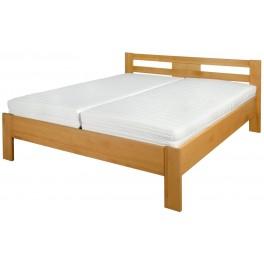 Michaela - Velice kvalitní postel z bukového masivu